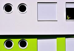 circles and squares (Zlatko Vickovic) Tags: street abstract color green texture photography bright colorfull serbia minimalism novisad vojvodina srbija streetcolor zlatko vickovic