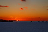 Going down under (Threin Ottossen) Tags: winter sunset sky snow landscape denmark outdoor fields lolland a weatherphotography abigfave earthnaturelife