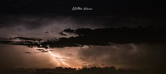 Lightning Thunderstorm (milocco_matteo) Tags: light sky storm night clouds canon photo shot thunderstorm lightning temporale fulmine stormchaser