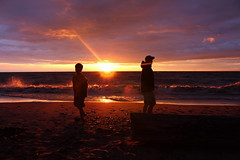Father and Son (Maddie Simpson) Tags: canon dad child candid uncle father son cousin fatherandson inmotion canonphotos kelsobeach canont5i