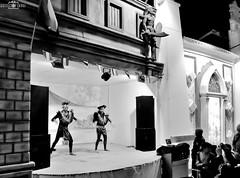 Performance - Global Village, Dubai, UAE (kadryskory) Tags: street people bw night dubai uae performance bynight bnw globalvillage intothenight stretphoto