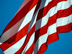 Old Glory Flapping (Roger Hilleboe) Tags: outdoors montana flag townsend