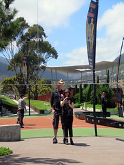 MONA selfie (Jellibat) Tags: reflection art gallery artgallery australia mona tasmania hobart berridale museumofoldandnewart