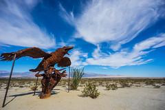 Borrego Springs Metal Art Sculpture (Jose Matutina) Tags: california desert anzaborrego sculptures sandiegocounty borregosprings metalart