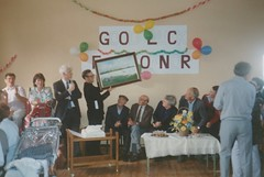 Fr O'Connor's leaving party (BEO- A Window into the Past) Tags: ireland history galway rural eire insight beo annaghdown éire gaillimh oidhreacht galwaycountycouncil galwayeducationcentre insightcentrefordataanalytics eanachdhúin anachcuain