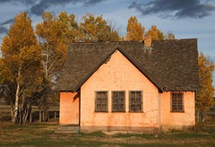 _G6T6830 John Moulton Pink Home (BKP2010) Tags: fall grandtetonsnationalpark moultonbarn mormanrow