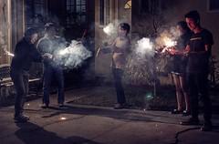 - Hppy Chinese New Year! (PeterThoeny) Tags: california house night lights fireworks sony sanjose chinesenewyear celebration cupertino hdr photomatix fav100 1xp nex6 sel50f18