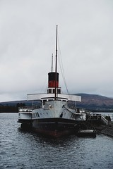 Maid of the Loch, Loch Lomond (cwiss) Tags: scotland boat highlands loch lochlomond maidoftheloch