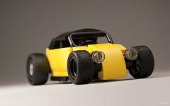 Ctrico de Mxico _02 (_Tiler) Tags: hot car sport vw race racecar volkswagen lego vehicle rod autoracing volksrod