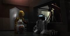 Low power mode (hachiroku24) Tags: movie rebel star force power lego low headquarters scene r2d2 wars mode base episode vii droid resistance c3po droids awakens bb8