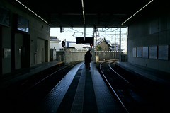 Begin Again () Tags: station japan kyoto tram arashiyama   keifuku   randen shijoomiya    canoneos650d