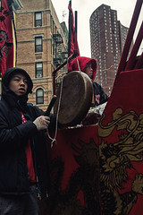 Lunar New Year 2016-3 (bat0urav3) Tags: life street new york urban cold color weather canon chinatown manhattan year celebration newyears lunar druming