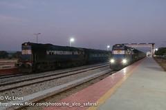 160204_04 (The Alco Safaris) Tags: town indian railways dlw erode alco chikmangalore shimoga 56272 wdg3a 13495