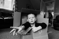 5 years old and hes still in a box - DSC00283 (s0ulsurfing) Tags: bw mono box sony william february black white 2016 s0ulsurfing rx100 rx100mk4