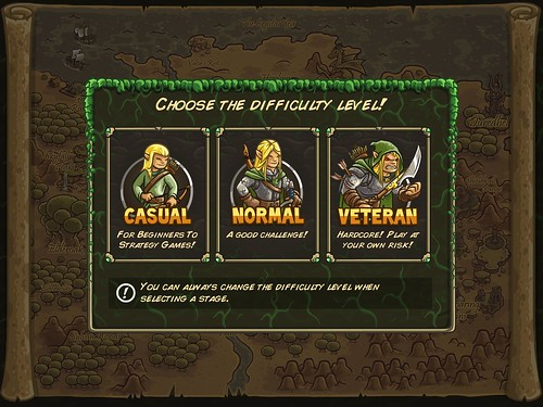 Kingdom Rush Origins Level Setup: screenshots, UI