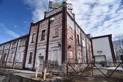 Brick (MiguelYetman) Tags: sun streetart brick graffiti nikon mural downtown winnipeg decay streetphotography lensflare d750 daytime 20mm midday everydaywinnipeg