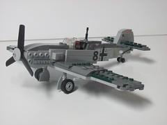 Messerschmitt 109E (yeager25) Tags: austin lego britain hurricane wwii battle mosquito motorcycle spitfire 1942 minifig custom bomber mk raf tilly bsa i