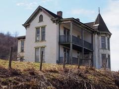 abandoned house (photography_isn't_terrorism) Tags: abandoned farmhouse balcony cupola abandonedhouse victorianhouse victorianera