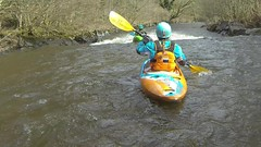 Kayak - River Tawe (mr__fox) Tags: white water rain wales river fun outside march video kayak kayaking paddling 2016 tawe gopro glyntawe