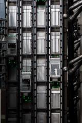 Elevators Green (andryn2006) Tags: england building london architecture lift unitedkingdom elevator insurance hitech lloyds limestreet richardrogers