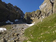Podejście na przełęcz Cavichirizas