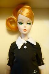 2016 Japan Convention Platinum Doll Classic Black Dress Posable Silkstone #bfmc #japan #convention #barbie #2016 #tokyo #zen #asakusa # # # (possiblezen) Tags: japan tokyo barbie zen convention  asakusa 2016  bfmc