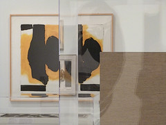 A12323 / reflecting on motherwell in gallery 11 (janeland) Tags: sanfrancisco california deyoungmuseum september 94118 2015 famsf robertmotherwell pe0