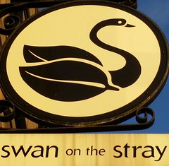 Swan On The Stray - Harrogate (garstonian11) Tags: yorkshire pubs harrogate camra realale pubsigns okells gbg2016