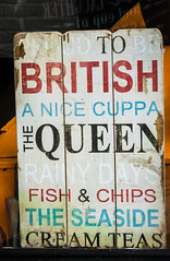 96/366 - Good to be British - 366 Project 2 - 2016 (dorsetpeach) Tags: england sign dorset british 365 distressed dorchester 2016 366 aphotoadayforayear 366project second365project cafejagos