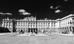 Madrid (SallyHaywood) Tags: madrid blackandwhite palaces