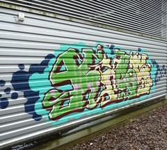 Kiss etc. (neppanen) Tags: streetart suomi finland graffiti helsinki kiss barf sloth earl tengu lokey teollisuusalue discounterintelligence roihupelto fiso sampen helsinginkilometritehdas
