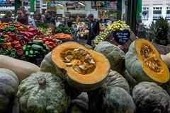 Get your fruit & Veg 'ere (Linda Court) Tags: city england people london vegetables fruit stall seeds pips boroughmarket marketplace
