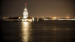 kiz kulesi; istanbul_turkey (eks-i zb) Tags: sea turkey istanbul deniz bosphorus marmara kule kiz