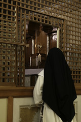 Dominican Nun in Adoration (Lawrence OP) Tags: saint buffalo dominican nuns blessedsacrament adoration eucharist monstrance