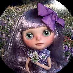 Blythe-a-Day April#20: Dandelion: Lyra & Dandelions...