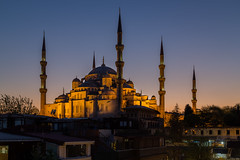 The blue mosque (PixPep) Tags: travel turkey istanbul bluehour sultanahmet thebluemosque pixpep