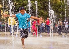 Domingo en Revolucin III (Osei Casanova) Tags: party portrait people playing water kids mexico fun outdoors amusement mexicocity mexican teen waterfalls believe relaxation xochimilco sunnyday regionals osei cdmx themonumenttotherevolution brownproud oseicd