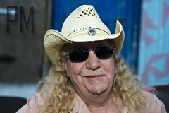 Pops Klemm (Paul McRae (Delta Niner)) Tags: sunglasses moustache pops cowboyhat soulpatch longblondehair larryklemm