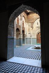 Al-Attarine Madrasa (Pablo Rodriguez M) Tags: morocco fez maroc marruecos fs madrasa alattarine