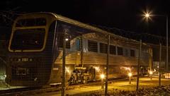 Canberra Rail, Kingston (ajspaldo) Tags: night train australia kingston canberra act ajs australiancapitalterritory ajspaldo ajspalto canberrarailwaystationkingston