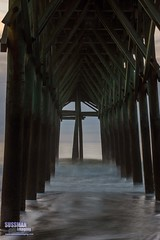Beneath the Pier (The Suss-Man (Mike)) Tags: wood longexposure beach nature water sunrise myrtlebeach pier unitedstates southcarolina atlanticocean slowshutterspeed georgetowncounty thesussman sonyslta77 sussmanimaging
