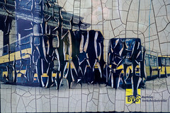 Mysterious Art (Fliwatuet) Tags: berlin germany schneberg de deutschland busstop panasonic ostern bushaltestelle bvg m43 mft blowstr em5 berlinerverkehrsbetriebe 20mm17 olympusomd