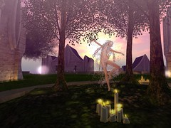 Candle Dancing in Serenity (gwen.enchanted) Tags: serenity ikon maitreya junbug bentbox analogdog catwa naminoke lumae ff2016