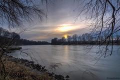 Fluss-Fotografie (novofotoo) Tags: bayern deutschland inn natur fluss landschaft gars flusufer