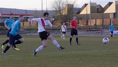 Robbie Halliday has a hunger for another goal (Stevie Doogan) Tags: park bon west accord scotland scottish first juniors division league holm clydebank superleague shotts bankies mcbookiecom