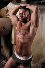 Eddy (Violentz) Tags: bear shirtless portrait hairy man male guy beard skin body fitness physique patricklentzphotography