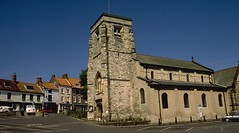 St Michael's church, Malton, Yorkshire (Hipster Bookfairy) Tags: church architecture romanesque townscape