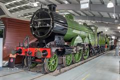 GNR 251, Ivatt Atlantic (Ronald_H) Tags: uk museum train vintage nikon great engine railway steam national locomotive northern locomotion 2016 d600 251 shildon