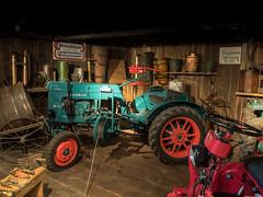 Vintage Farm Technology (spline_splinson) Tags: tractor de deutschland rust traktor transportation antiquetractor oldtechnology hanomag oldtractor badenwrttemberg vintagefarmequipment uhldingenmhlhofen