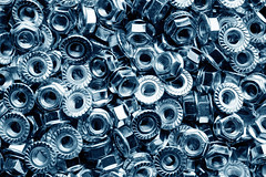 Steel nuts (vav163) Tags: detail thread metal wrapping screw design hardware wire iron shine hole many background steel line bolt hexagon nut binding connection washer scattering